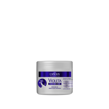 Máscara de Hidratação Violeta Desamarelador 350g