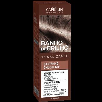 Castanho Chocolate Banho de Brilho Tonalizante 100g